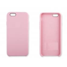 Cиликоновый чехол для iPhone 6/6S ORIG, light pink (розовый)
