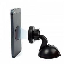 Автодержатель для телефона №199 на панель (на шарнире, с магнитом) черный