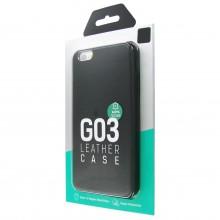 Защитная крышка для iPhone 6 Plus (5.5') dotfes G03 пластик черный