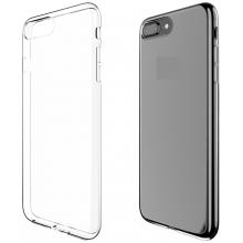 Защитная крышка для iPhone 6+ (5.5') Plus dotfes G04 силикон черный