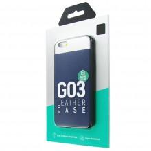 Защитная крышка для iPhone 6 (4.7')/6S dotfes G03 пластик синий
