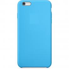 Cиликоновый чехол для iPhone 6/6S ORIG, blue голубой