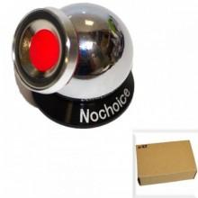 Автодержатель для телефона №168 на панель (на шарнире, с магнитом) серебро