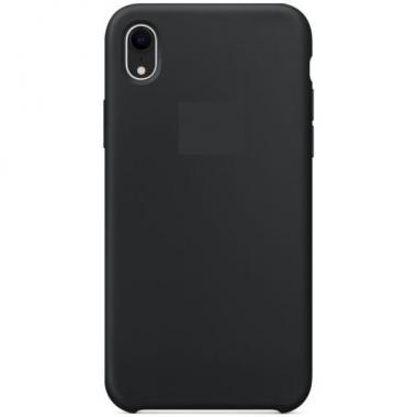 "Чехол - накладка для iPhone Xr ""Silicone Case"" черный"