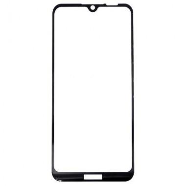 Защитное стекло для Honor 8A/8A Pro/Huawei Y6 (2019) YOLKKI PRO 2,5D Full Glue с рамкой черное