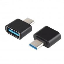 OTG переходник Type-C на USB (черный)