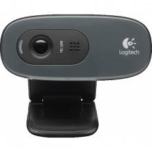 Веб-камера Logitech HD Webcam C270 (1280x720/USB 2.0/встроенный микрофон) Б/У