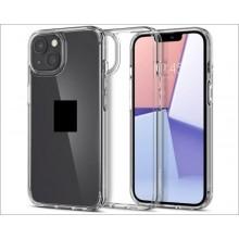"""Чехол - накладка для  iPhone 13 mini (5.4"""") YOLKKI Alma силикон прозрачный (1мм)"""